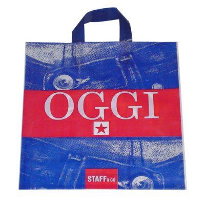 Διαφημιστικές Πλαστικές Σακούλες Soft Loop
