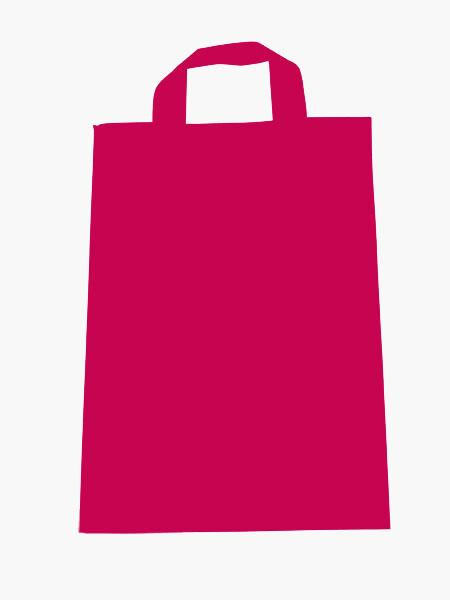 Πλαστικές σακούλες soft loop επαναχρησιμοποιούμενες